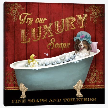 Luxury Soaps Canvas Print #KNU25} by Conrad Knutsen Canvas Art Print