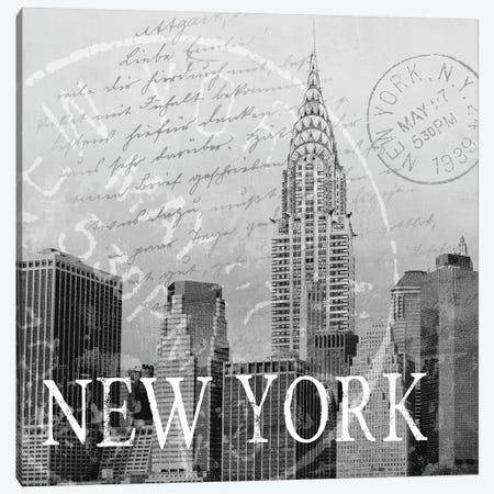 New York Canvas Print #KNU27} by Conrad Knutsen Canvas Print