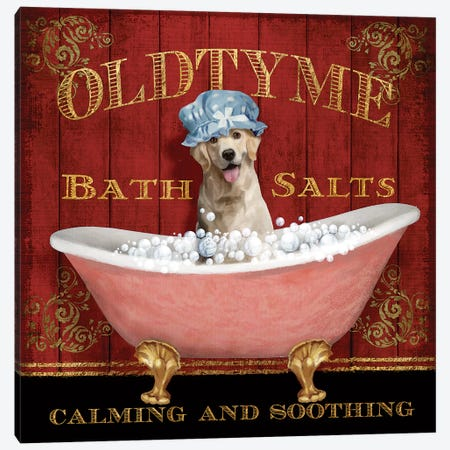 Old Tyme Bath Canvas Print #KNU29} by Conrad Knutsen Canvas Artwork