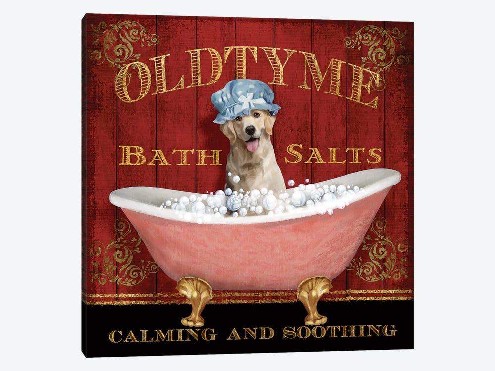 Old Tyme Bath by Conrad Knutsen 1-piece Canvas Art Print