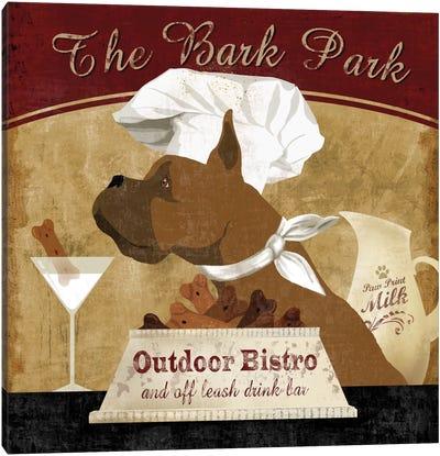 Bark Park Canvas Art Print