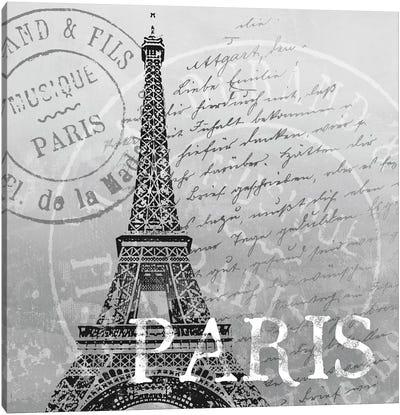 Paris Canvas Print #KNU30