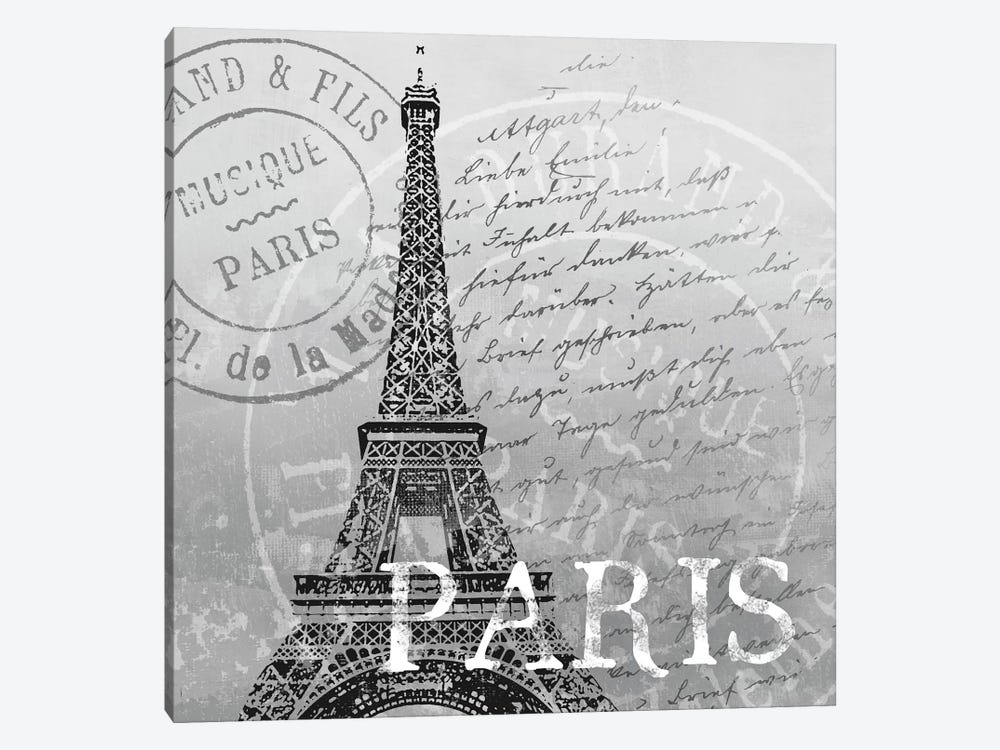 Paris by Conrad Knutsen 1-piece Canvas Art Print