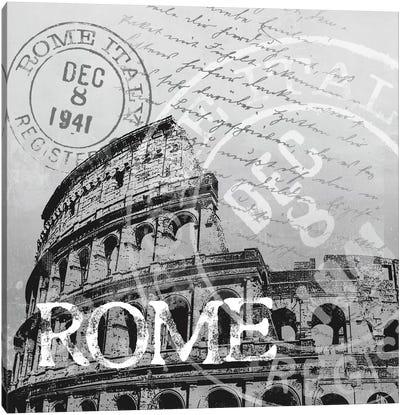 Rome Canvas Art Print