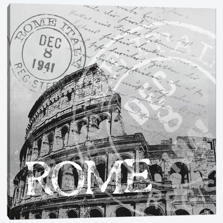 Rome Canvas Print #KNU31} by Conrad Knutsen Canvas Print