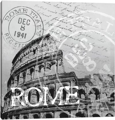 Rome Canvas Art Print