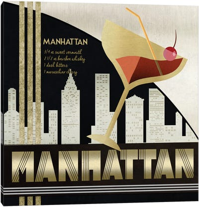 The Original Manhattan Canvas Art Print