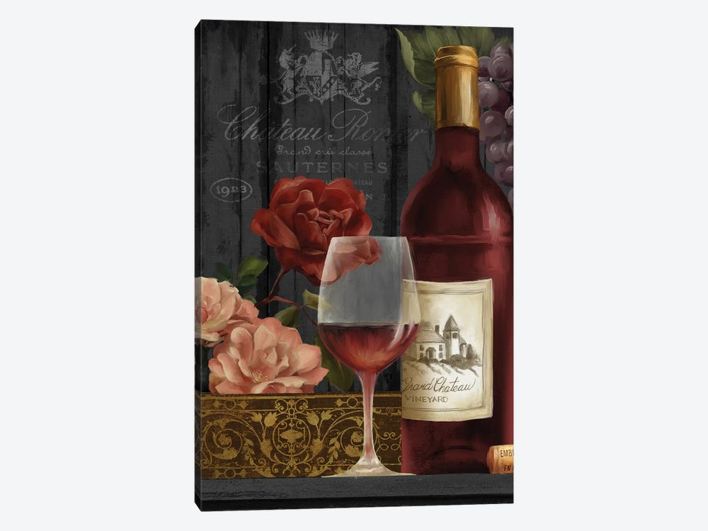 Chateau Wine I by Conrad Knutsen 1-piece Canvas Art