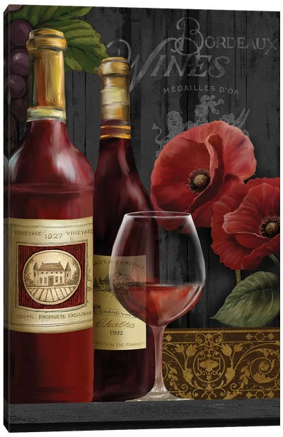 Chateau Wine II Canvas Art Print