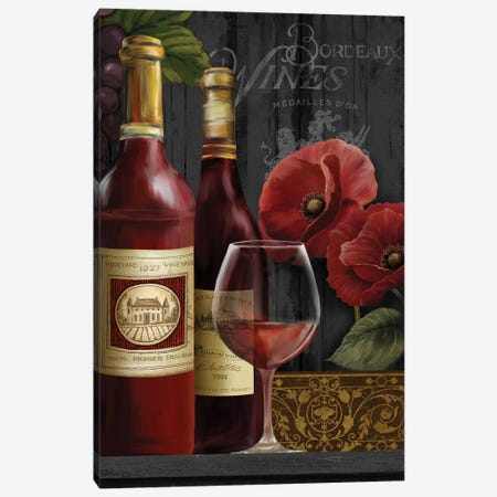 Chateau Wine II Canvas Print #KNU36} by Conrad Knutsen Canvas Artwork