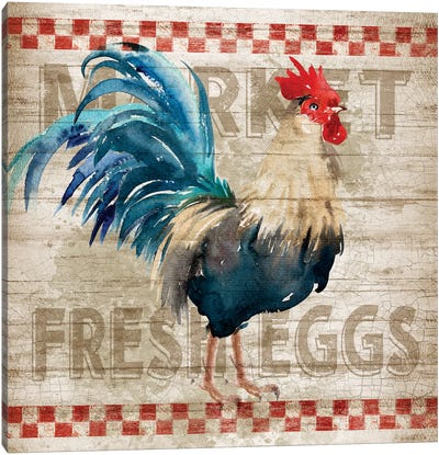 Morning Eggs Canvas Art Print