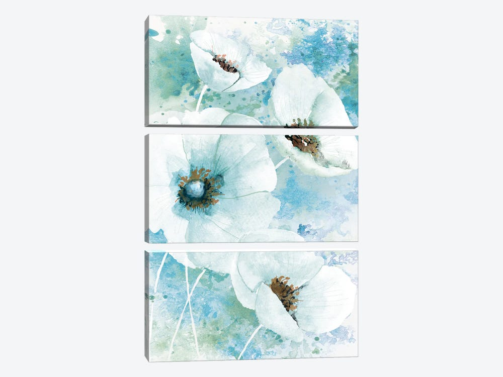 Simple and Pretty I by Conrad Knutsen 3-piece Canvas Wall Art