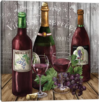Delicious Reds I Canvas Art Print