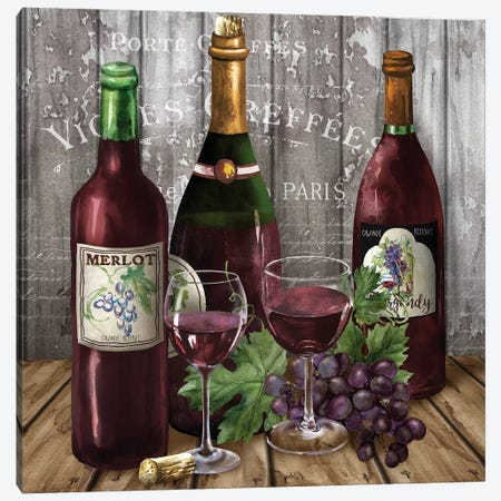 Delicious Reds I Canvas Print #KNU41} by Conrad Knutsen Canvas Wall Art
