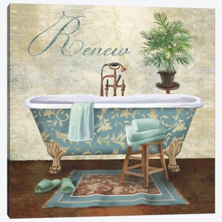 Bath Renew Canvas Print #KNU47} by Conrad Knutsen Canvas Art Print