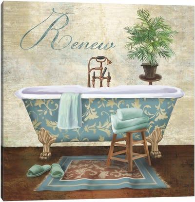 Bath Renew Canvas Art Print