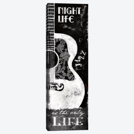 Night Life Canvas Print #KNU4} by Conrad Knutsen Canvas Art Print