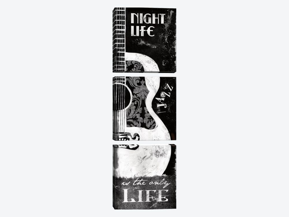 Night Life by Conrad Knutsen 3-piece Canvas Wall Art