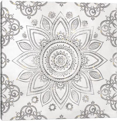 Mandala Sunburst Canvas Art Print