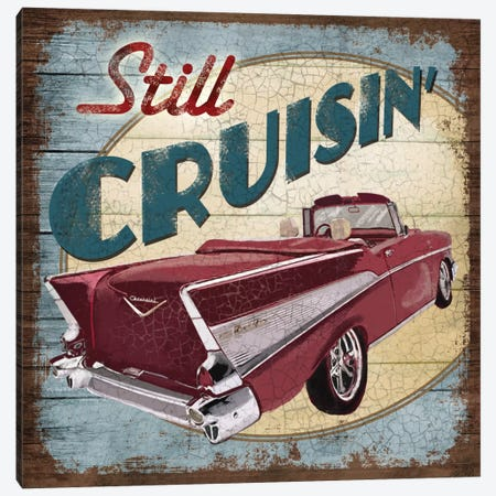 Still Cruisin' Canvas Print #KNU6} by Conrad Knutsen Canvas Art Print