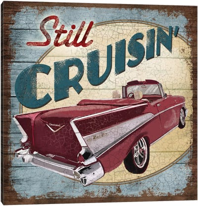 Still Cruisin' Canvas Art Print