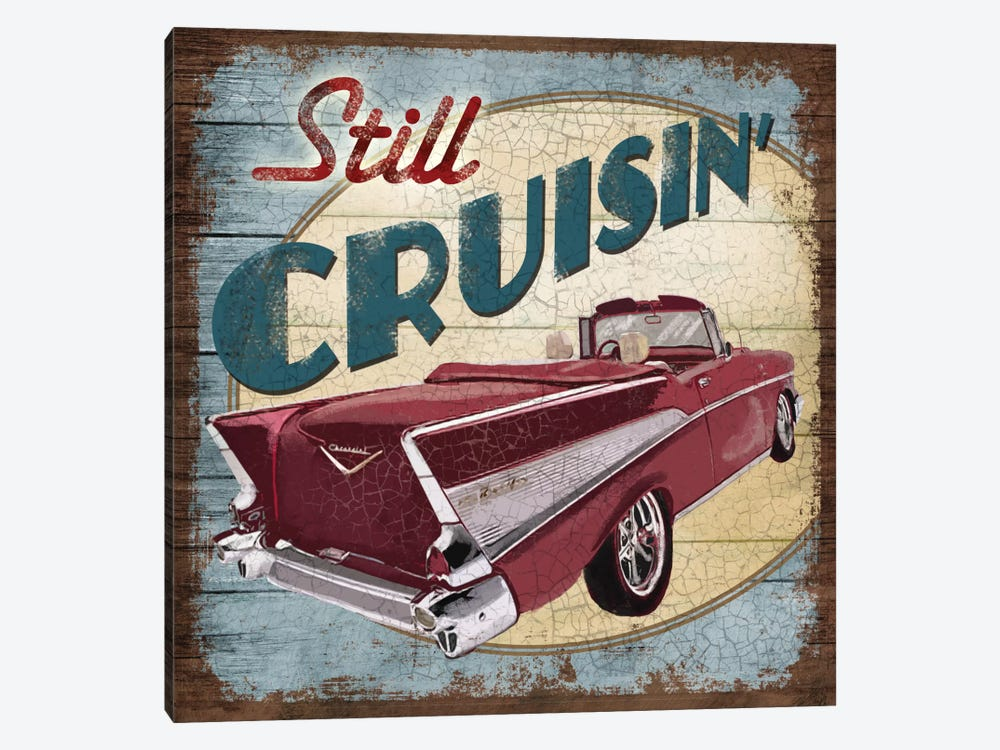 Still Cruisin' by Conrad Knutsen 1-piece Canvas Art