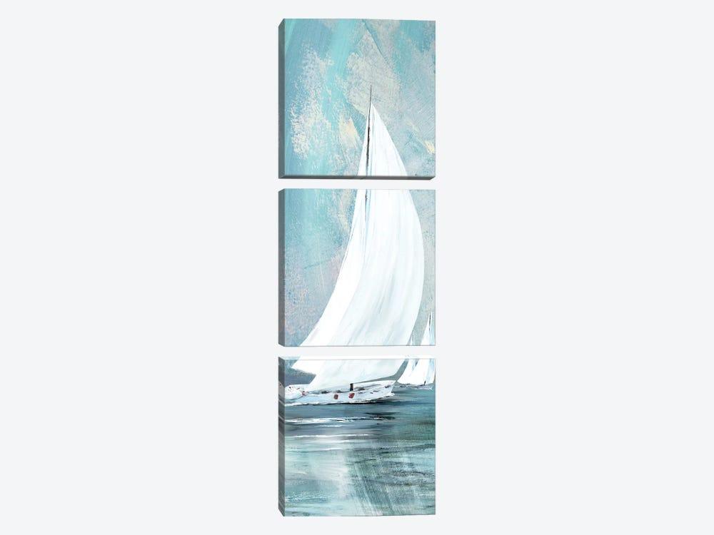 Soft Sail I by Conrad Knutsen 3-piece Canvas Artwork