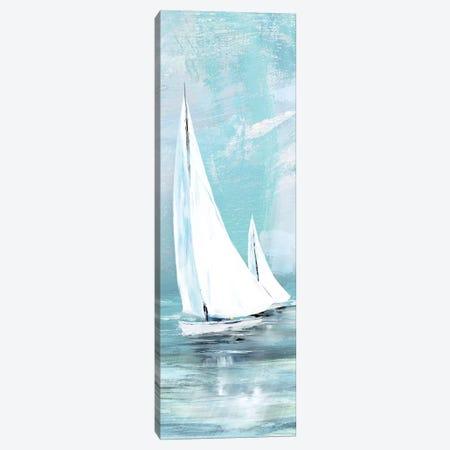 Soft Sail II 3-Piece Canvas #KNU74} by Conrad Knutsen Canvas Artwork