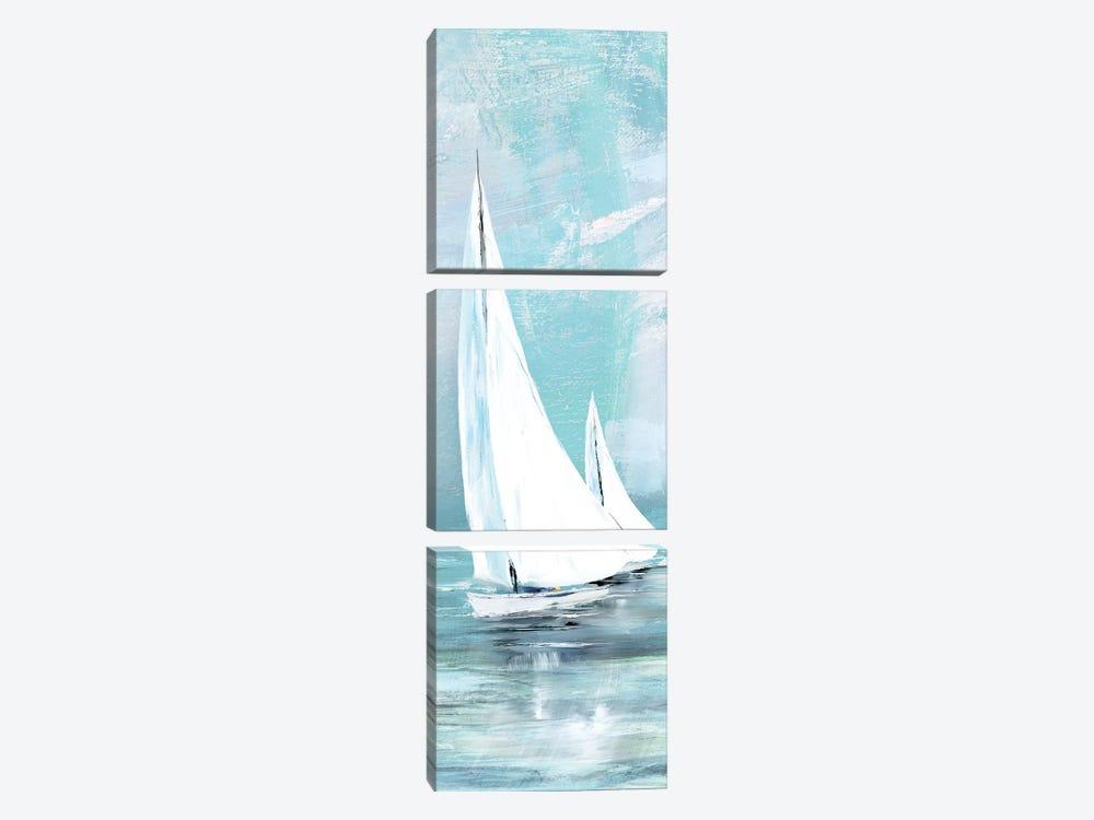 Soft Sail II by Conrad Knutsen 3-piece Canvas Print