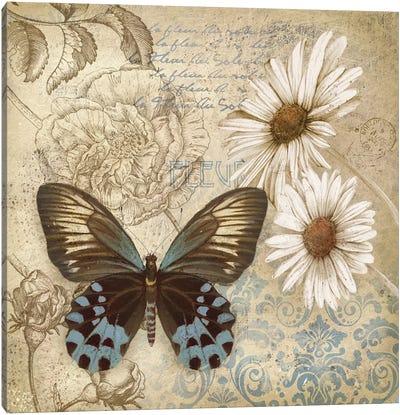 Butterfly Garden I Canvas Art Print