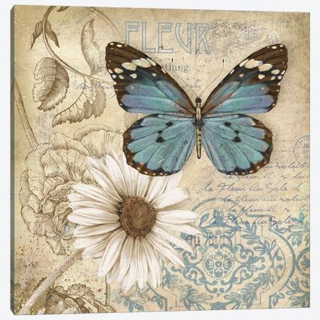 Butterfly Garden II Canvas Print #KNU86} by Conrad Knutsen Canvas Print