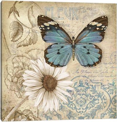 Butterfly Garden II Canvas Art Print