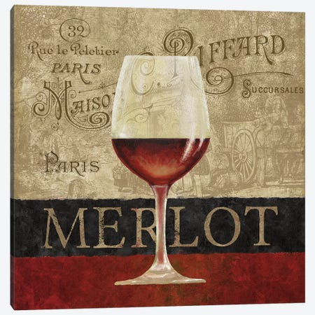 Merlot Canvas Print #KNU90} by Conrad Knutsen Canvas Art Print