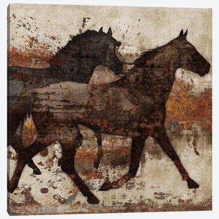 Running Free I Canvas Print #KNU97} by Conrad Knutsen Canvas Wall Art