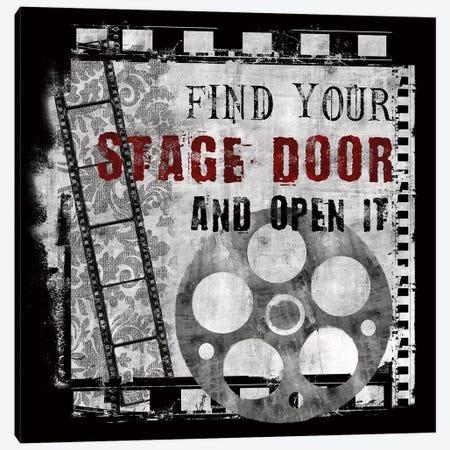 Stage Door Canvas Print #KNU99} by Conrad Knutsen Canvas Art Print