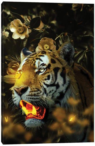Gold Tiger Canvas Art Print