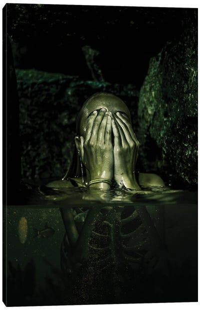 Radioactive Water Canvas Art Print