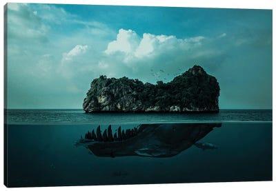 Skull Island Canvas Art Print