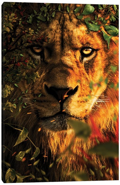 The Great King Canvas Art Print