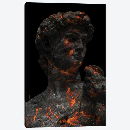 Lava Sculpture II Canvas Print #KNV69} by Milos Karanovic Canvas Art Print