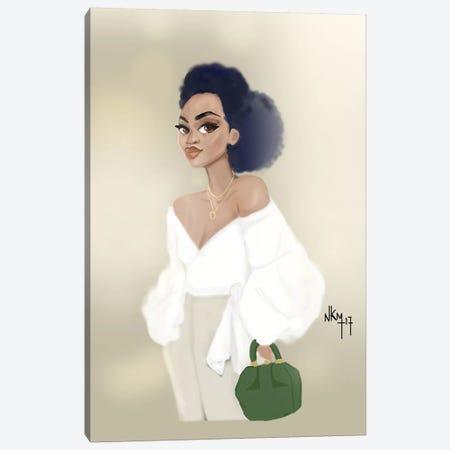Blouse Blanch   Canvas Print #KOB13} by Nicholle Kobi Canvas Art Print