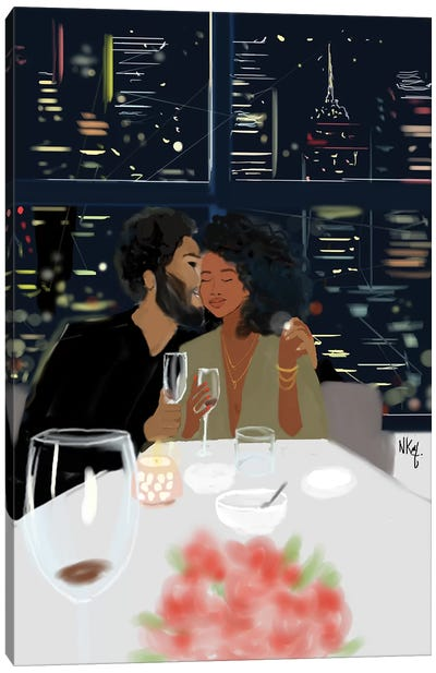 Couples Canvas Art Print