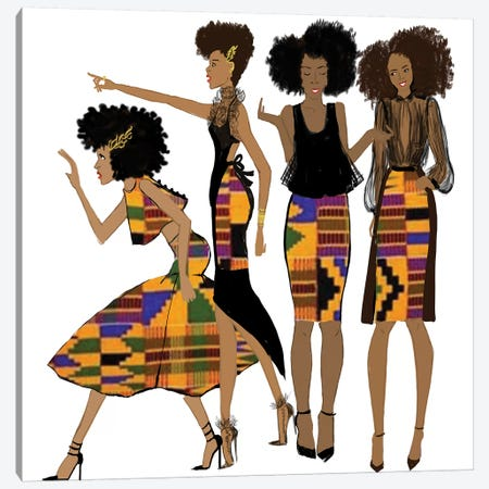 The Conquering Canvas Print #KOB27} by Nicholle Kobi Canvas Art Print