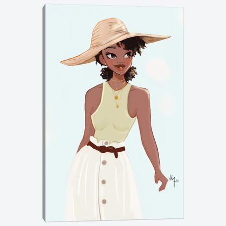 Tia   Canvas Print #KOB28} by Nicholle Kobi Canvas Art