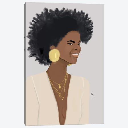 Big Smiley Canvas Print #KOB33} by Nicholle Kobi Canvas Print