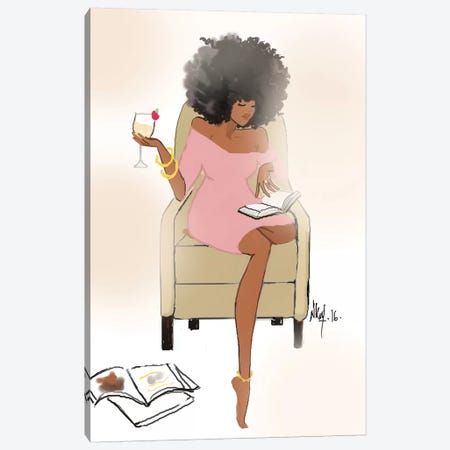 Sunday Night II Canvas Print #KOB37} by Nicholle Kobi Canvas Artwork