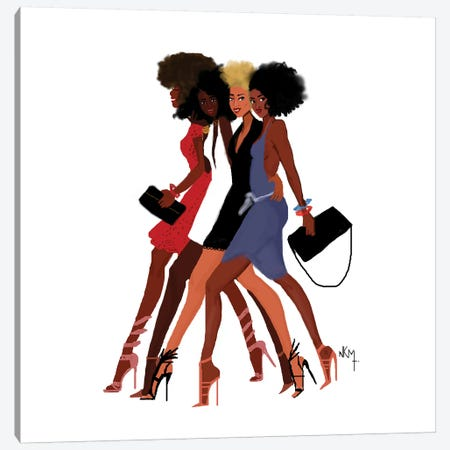 4 Us Canvas Print #KOB3} by Nicholle Kobi Art Print