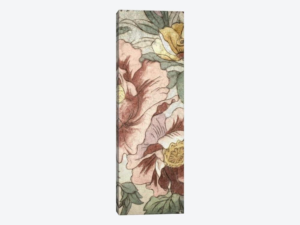 Earthtone Floral Panel I by Catherine Kohnke 1-piece Canvas Art Print