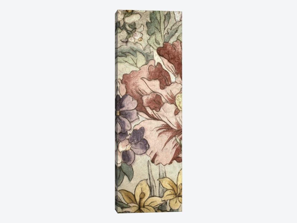 Earthtone Floral Panel II by Catherine Kohnke 1-piece Canvas Artwork