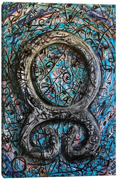 Trollscross - Viking Symbols Canvas Art Print